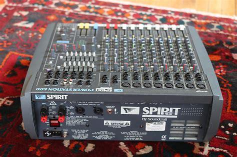 Power Lifier Soundcraft Soundcraft Spirit Powerstation 600 Mixer Birdhouse Reverb