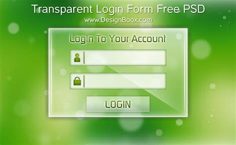 form design psd free download mansy design tools transparent login form free psd