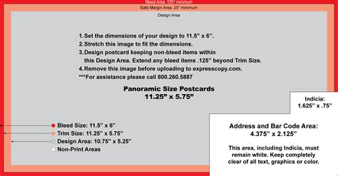 Postcard Specifications Postcard Postal Regulations Expresscopy Com Jumbo Postcard Template