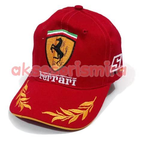 Tas Ferari Merah jual topi scuderia merah f1 di lapak