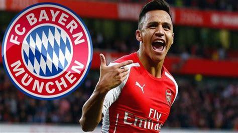 Alexis Sanchez Bayern | arsenal s alexis sanchez to join bayern munich youtube