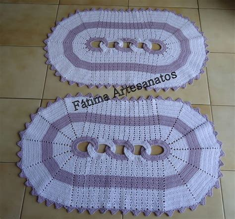 tapetes coloridos de croche jogos e amostra decoracao jogo tapete de croch 234 maria de f 225 tima alvarenga elo7
