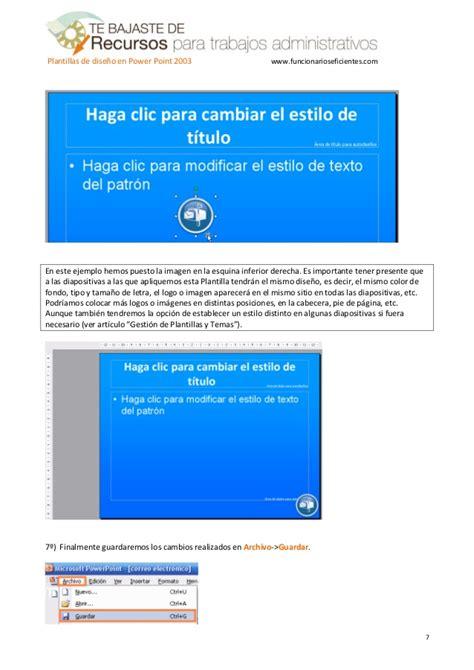 tutorial powerpoint 2003 para niños como crear una plantilla o tema en powerpoint 2003
