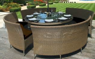 Lazy Susan Dining Room Table by Patio Table Mezzo Round