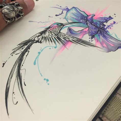 hummingbird tattoo designs meaning 80 best watercolor hummingbird meaning and