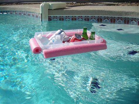 diy floating cooler diy floating pool noodle cooler