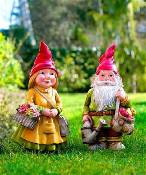 cute garden gnomes charlotte and sebastian so cute to gnome me is to love