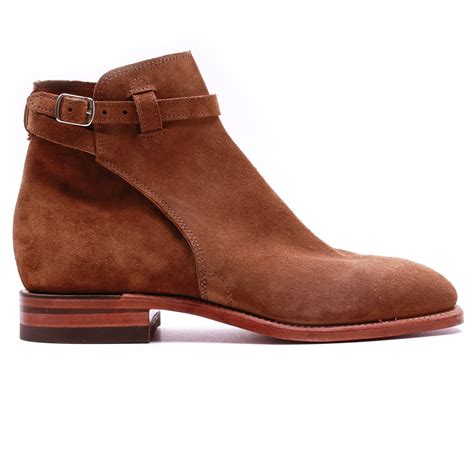 R M Williamsgilchrist Suede Boots r m williams buckle boot suede tobacco slash store