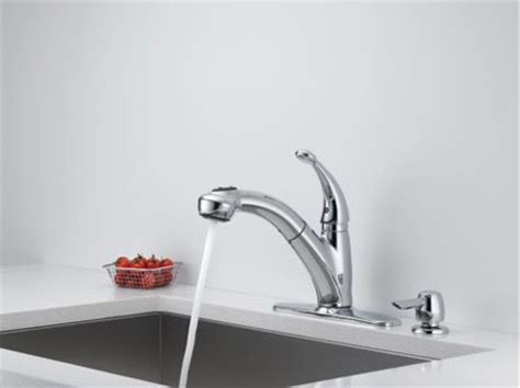 Delta Cicero Faucet by Delta 468 Sssd Dst Cicero Single Handle Pull Out Kitchen