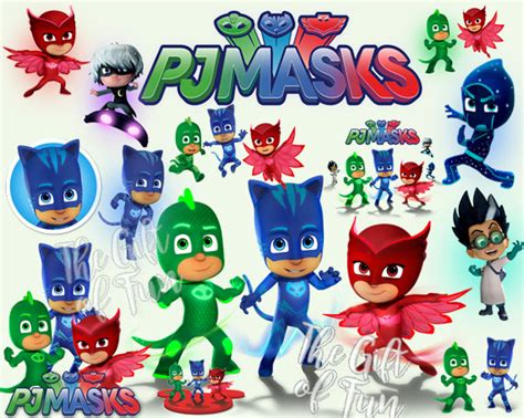 pj mask clipart clipground