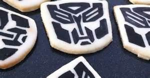 transformers cookies a transformer birthday party griffin turns 6 pinterest food food