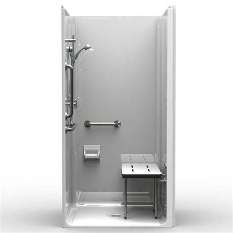 ada shower stall best bath systems video 5piece handicap shower handicapped showers