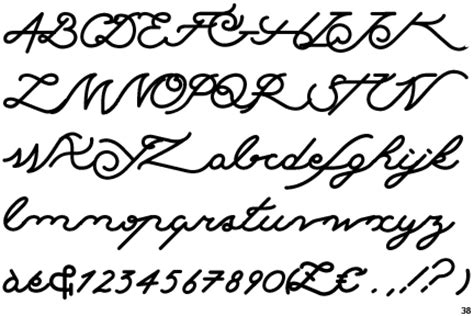 tattoo font delicate ink