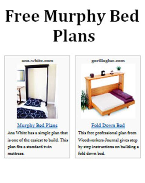 Murphy Bed Plans Pdf by Pdf Diy Murphy Bed Plans Diy Modern Furniture