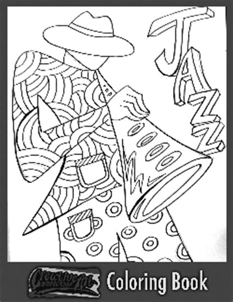 jazz music coloring pages free coloring book pages