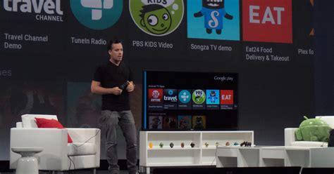 chrome for android tv google i o 2014 android tv et chromecast 224 la conqu 234 te