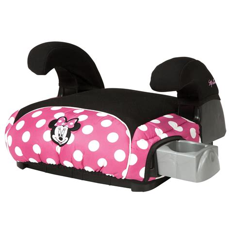 minnie mouse booster seat disney minnie mouse belt positioning booster car seat