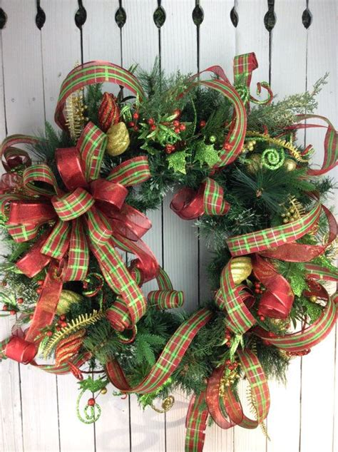 best 25 large christmas wreath ideas on pinterest