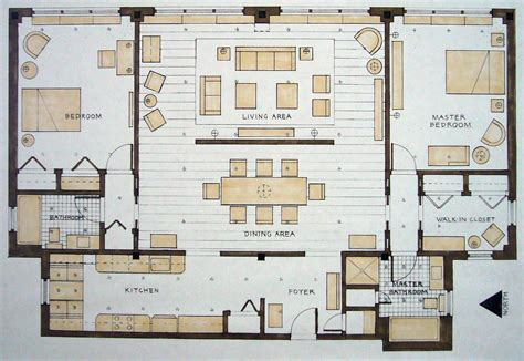 manhattan apartment floor plans student work by michael wickersheimer at coroflot com