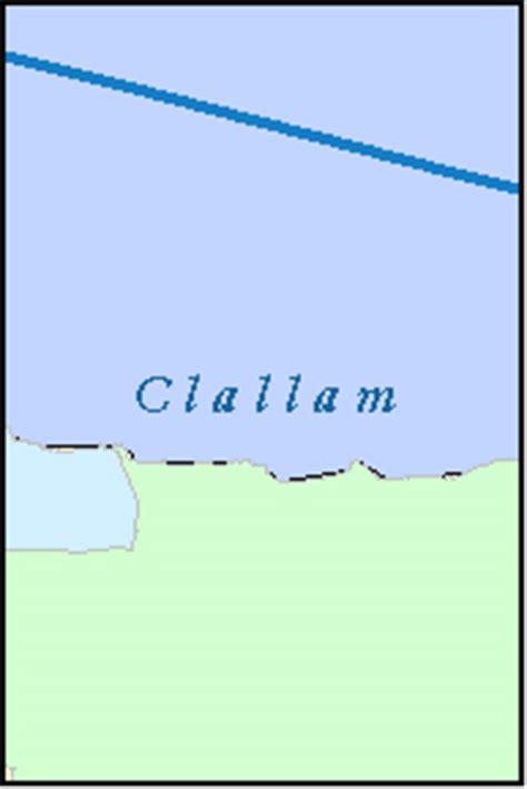 Clallam County Name Search Clallam County Washington Digital Zip Code Map