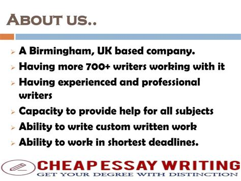 Essay Writing Cheap Uk by Ppt Cheap Essay Writing Uk Get Best Essay Writing Services Powerpoint Presentation Id 7505924