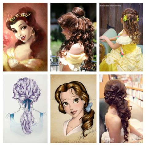 hairstyles for prom games princess belle hair ideas hairstyles pinterest
