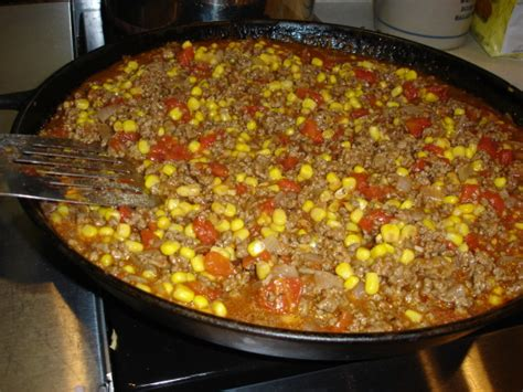 recipetips now hamburger casserole easy hamburger corn casserole recipe genius kitchen