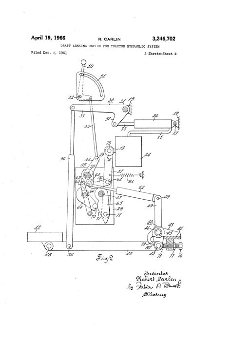 description of farnam s patent hydraulic apparatus for raising water including tables price lists and other practical information on the water also descriptions of engines books patent us3246702 draft sensing device for tractor