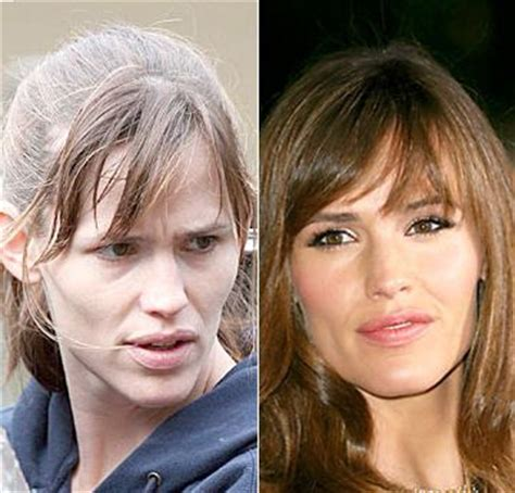 how many celebrities have thinning hair jennifer garner celebs without make up pinterest