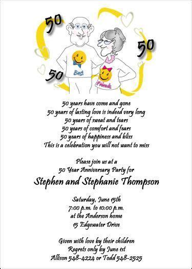 Wedding anniversary invitations, Anniversary invitations