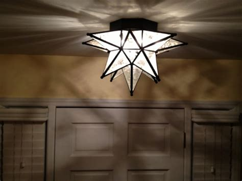 Tiny Entryway Ideas Moroccan Star Flush Mount Ceiling Light Fixture Light