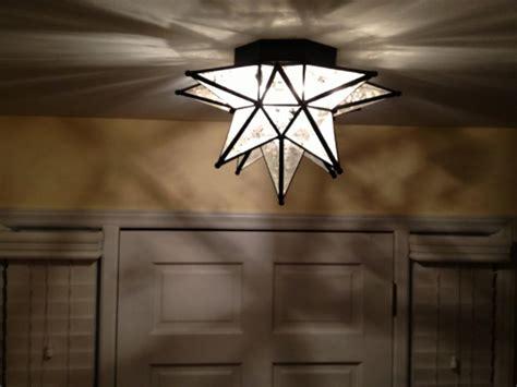 Moroccan Star Flush Mount Ceiling Light Fixture Light Fixtures Design Ideas