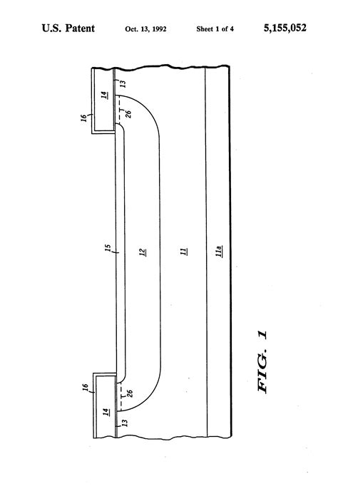 transistor vertical patent us5155052 vertical field effect transistor with improved of low resistivity