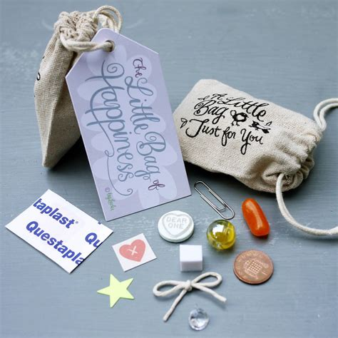 Souvenir Hers Goodie Bag Pouch Pipih bag of happiness by leelu notonthehighstreet