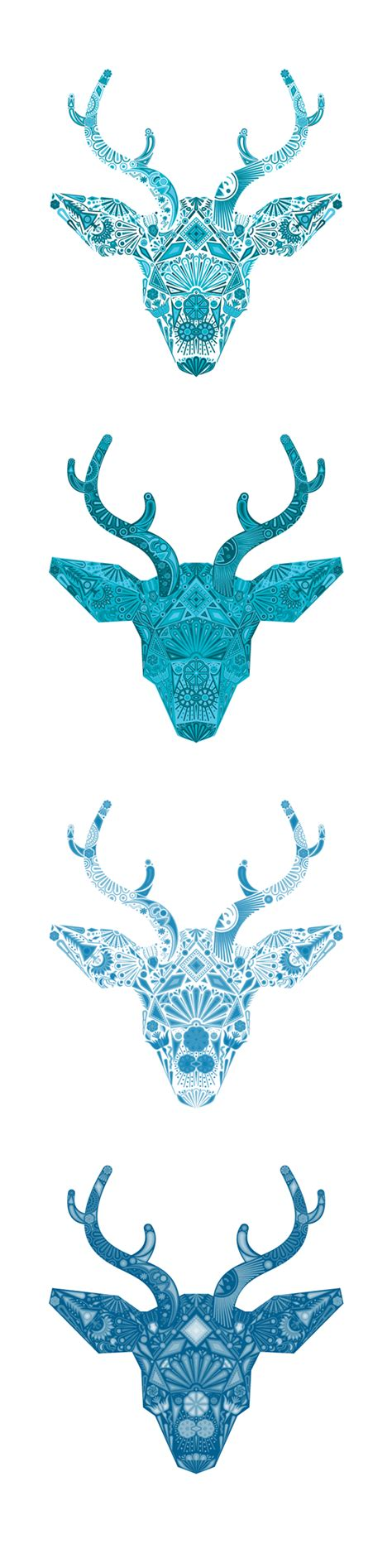 huichol deer on behance