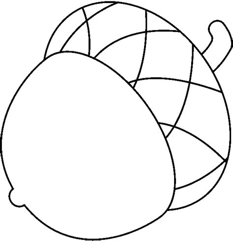 Acorn Coloring Page Acorn Clip Art Cliparts Co by Acorn Coloring Page