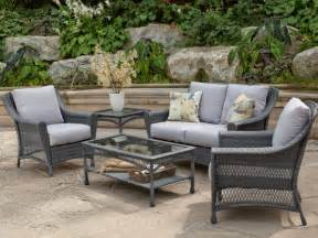 hayneedle patio furniture freebie fridays wicker furniture set from hayneedle