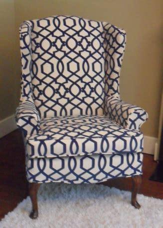 diy wingback chair slipcover wingback chair slipcover diy myideasbedroom com