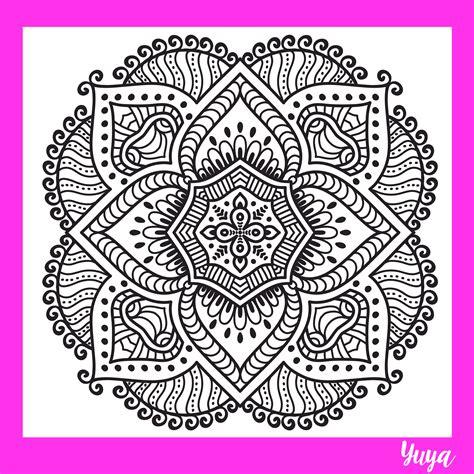 imagenes de mandalas faciles de dibujar dibujando mandalas yuya