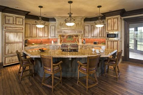 18  Curved Kitchen Island Designs, Ideas   Design Trends