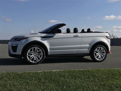 2017 range rover evoque convertible test drive review