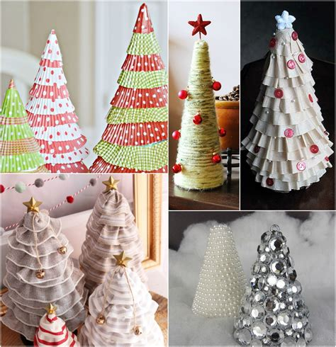 christmas tree craft ideas 15 diy tabletop christmas