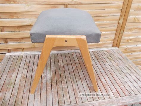 alter hocker holz alter polster hocker kleiner sitz holz hocker