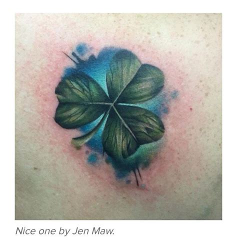 watercolor tattoo ireland awesome shamrock thinking about getting this on my