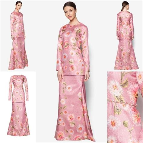 baju melayu terkini fesyen trend terkini bianco mimosa prisma baju kurung