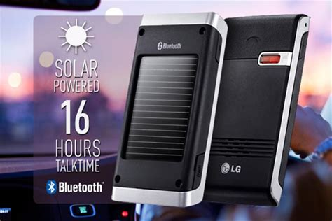 lg bluetooth charger scoopon delivered lg solar bluetooth car kit charger