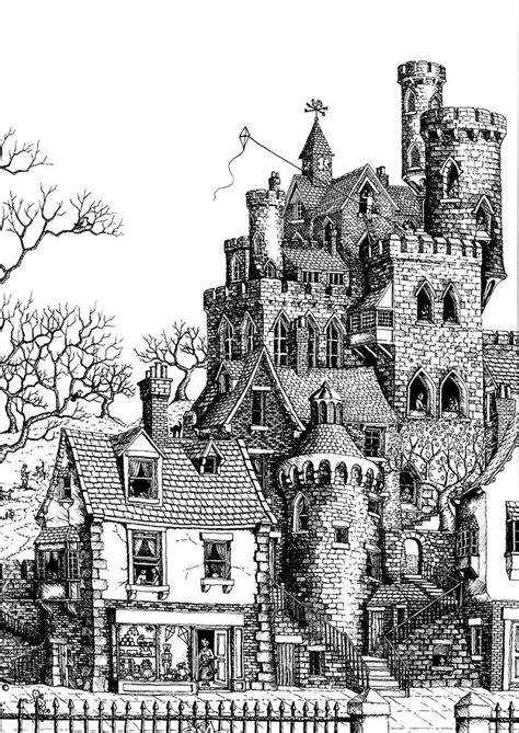 images  adult coloring pages landscapes