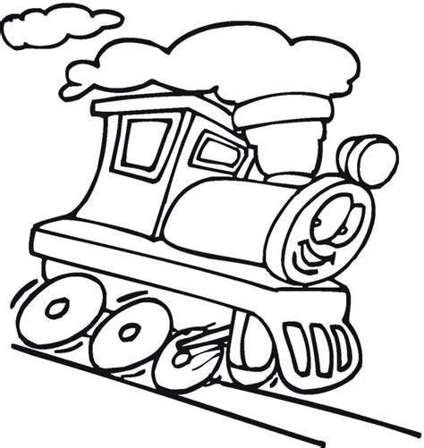 free coloring pages of train cars