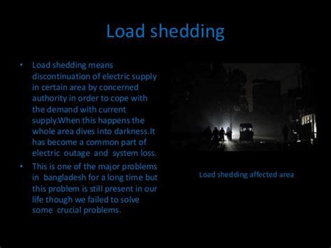 Shedding Problem load shedding problem in bangladesh