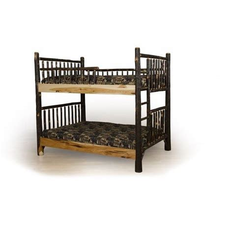 Hickory Bunk Beds Hickory Bunk Bed Amish Crafted Furniture